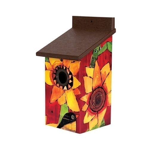 Sunflower Delights Birdhouse