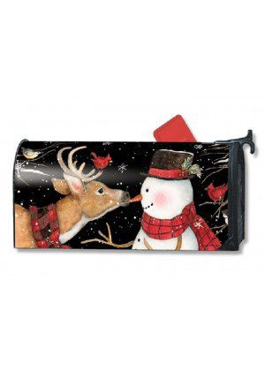 Nose to Nose Mailbox Cover | Decorative Mailwraps | Mailbox Covers