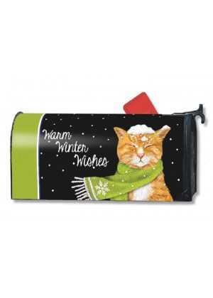 It Is Cold Outside Mailbox Cover | Mailwraps | Christmas Mailbox Covers