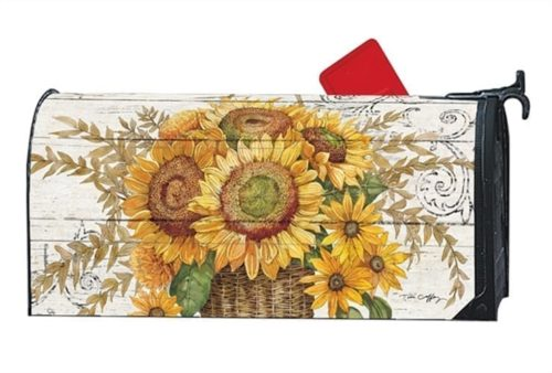 Farmhouse Sunflower Mailwraps Mailbox Cover