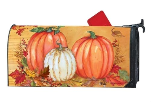 Traditional Pumpkins Mailwraps Mailbox Cover