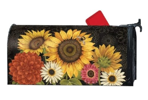 French Flowers Mailwraps Mailbox Cover