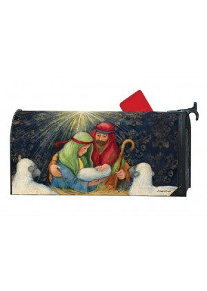 Behold The Child Mailbox Cover | Mailwraps | Christmas Mailbox Covers