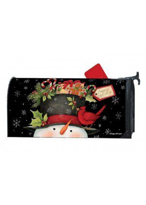 Hatful of Goodies Mailbox Cover | Mailwraps | Christmas Mailbox Covers