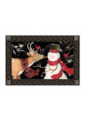 Nose to Nose Doormat | Doormats | MatMates | Decorative Doormats
