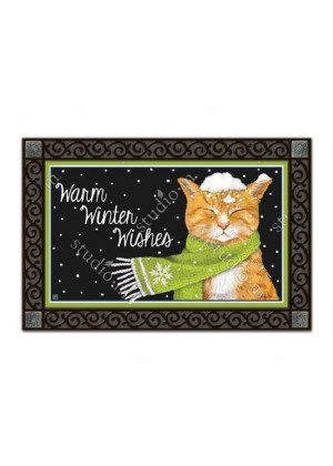 It Is Cold Outside Doormat | Doormats | MatMates | Decorative Doormats