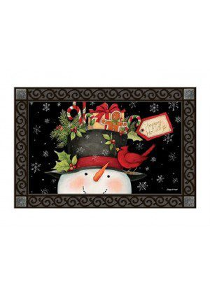 Hatful of Goodies Doormat | Doormats | MatMates | Christmas Doormats