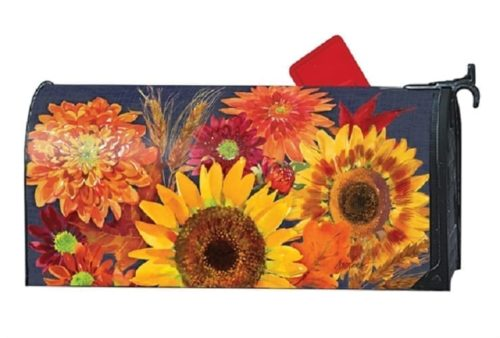 Autumn Toss Mailwraps Mailbox Cover