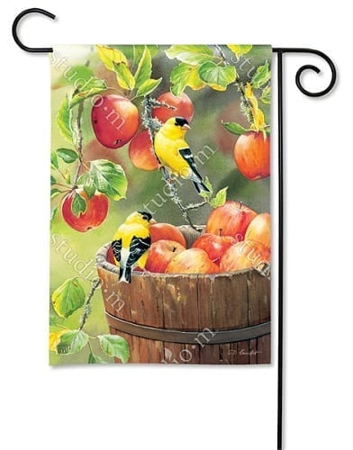 Apple Harvest Friends Flag | Decorative Garden Flag | Garden House Flag