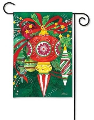 Merry and Bright Garden Flag | Christmas Flags | Holiday Flag | Yard Flags
