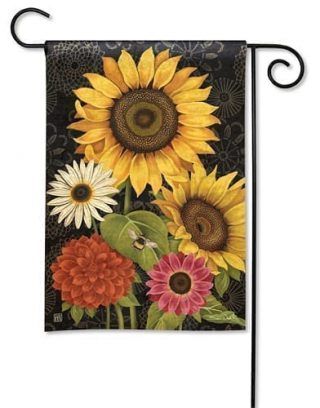 French Flowers Garden Flag | Fall Flags | Floral Flags | Garden Flags