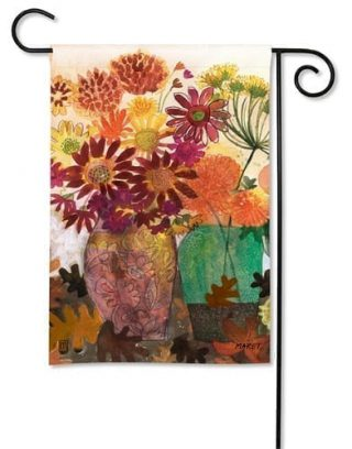 Fabulous Floral Garden Flag | Fall Flags | Floral Flags | Cool Flags
