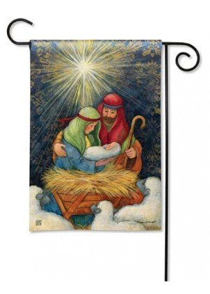 Behold the Child Garden Flag | Christmas Flags | Holiday Flags | Cool Flag