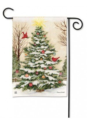 Decorate The Tree Garden Flag   Christmas Flags   Holiday Flags   Flags