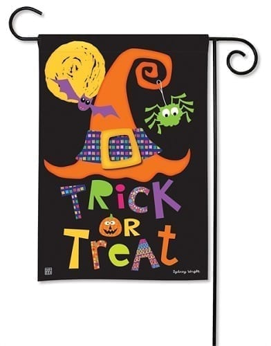 Witches Halloween Garden Flag | Decorative Garden Flags | Garden House Flags