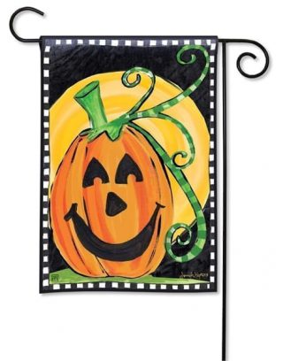 Halloween is Here Garden Flag | Halloween Flags | Fall Flags | Cool Flags