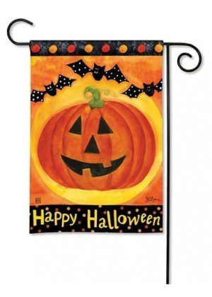 Jack and Friends Garden Flag | Halloween Flags | Holiday Flag | Fall Flags