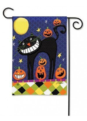 Halloween Smiles Garden Flag | Halloween Flags | Holiday Flag | Fall Flag