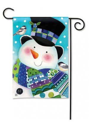 Hello My Friends Garden Flag | Winter Flags | Snowman Flags | Yard Flags