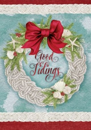 Good Tidings Flag | Christmas Flags | Two-sided Flags | Holiday Flags