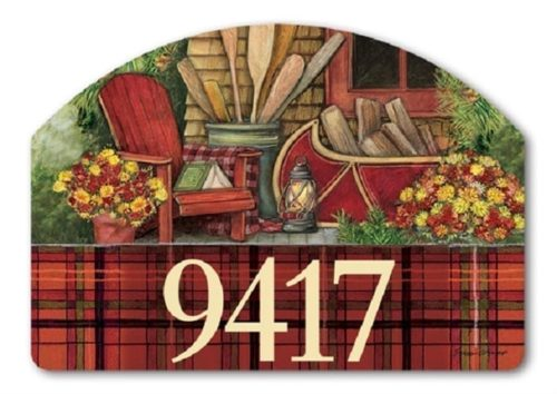 Fall Relaxation Yard Sign | Address Plaques | Garden House Flags