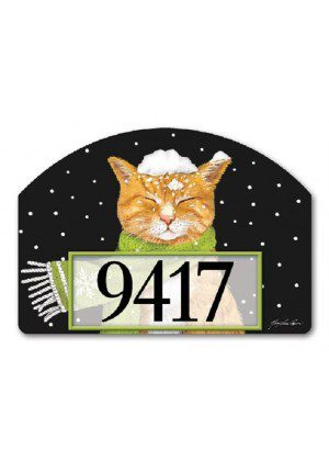It Is Cold Outside Yard Sign | Address Plaques | Garden Decor | Yard Signs