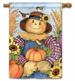 Happy Harvest House Flag | Thanksgiving Flags | Yard Flags | Fall Flags