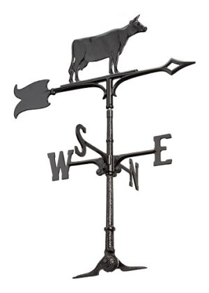 "30"" Cow Accent Weathervane 