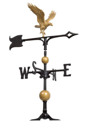 "30"" Full-Bodied Eagle Weathervane 