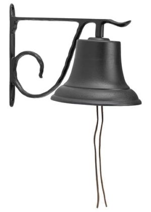 Large Country Bell | Bells | Metal Bell | Outdoor Bells | Garden House Flag