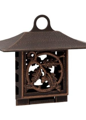 Oak Leaf Suet Feeder | Bird Feeder | Garden Decor | Garden House Flags