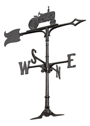 "30"" Tractor Accent Weathervane 