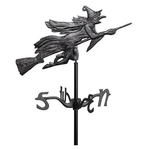 Witch Garden Yard Weathervane