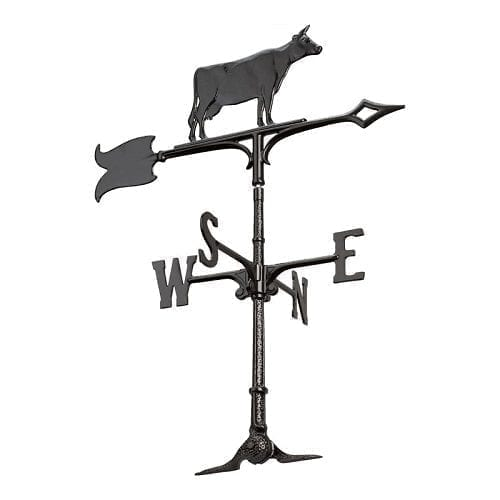 30 Inch Cow Accent Weathervane