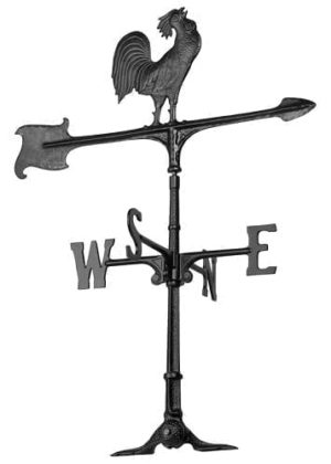 "30"" Rooster Accent Weathervane 