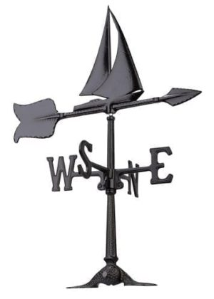 "24"" Sailboat Accent Weathervane 