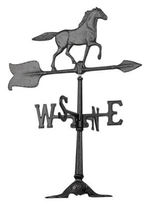 "24"" Horse Accent Weathervane 