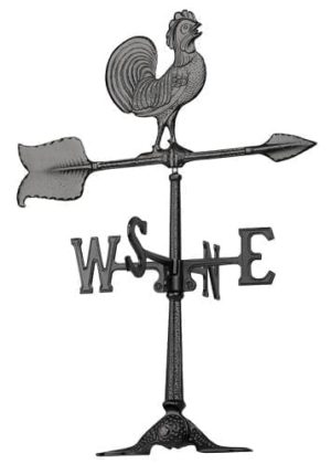 "24"" Rooster Accent Weathervane 