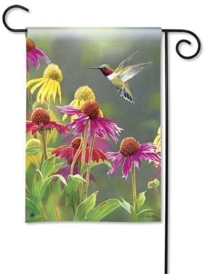 Hummingbird Heaven Flag | Decorative Garden Flag | Garden House Flags