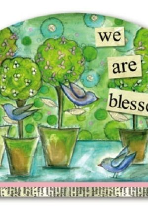 We Are Blessed Yard Sign | Yard Signs | Garden Decor | Address Plaques