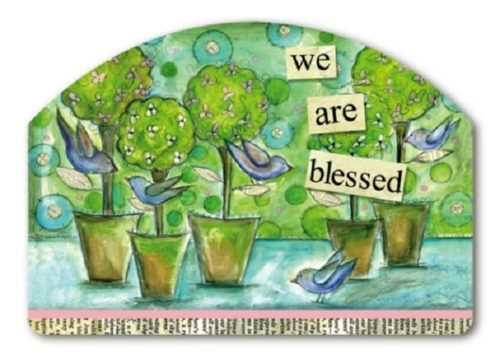 We Are Blessed Yard Sign | Decorative Yard Signs | Garden House Flags