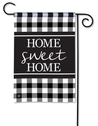 Black & White Check Garden Flag | Inspirational Flags | Cool Flags