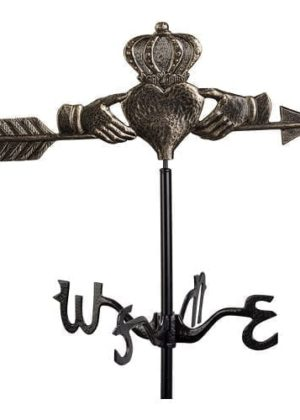 Claddagh Garden Weathervane for Yard