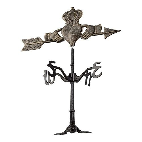 Claddagh Weathervane | Weathervanes | Garden House Flags