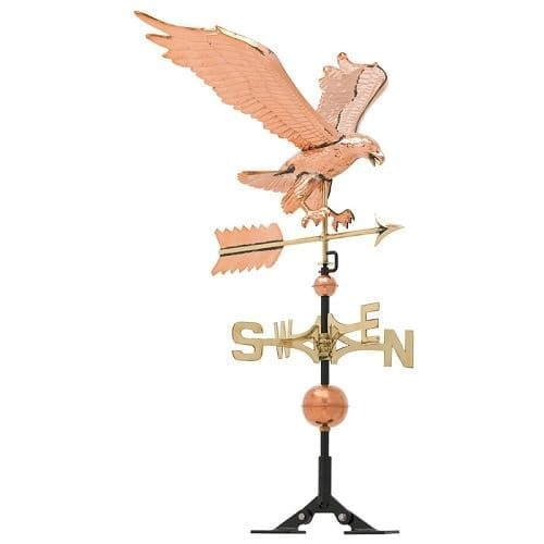 Copper Eagle Weathervane | Weathervanes | Garden House Flags