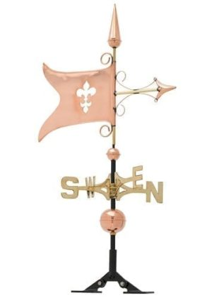 Copper Banner Weathervane | Weathervanes | Garden House Flags