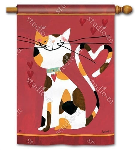 Sweet Kitty Flag | Decorative Flags | House Flags | Garden House Flags