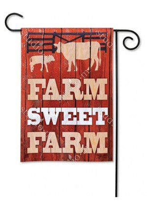 Down on the Farm Garden Flag | Farmhouse Flag | Spring Flag | Cool Flag