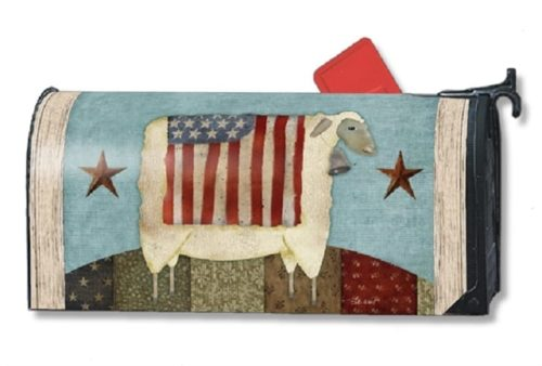Freedom Sheep Mailwraps Mailbox Cover