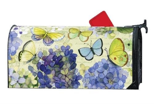 Hydrangea Beauties Mailbox Cover | Mailwraps | Garden House Flags